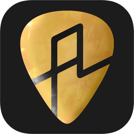 Amped guitar lesson app icon
