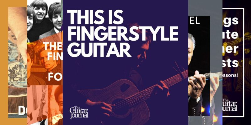 header image for article on top fingerstyle guitar playlists