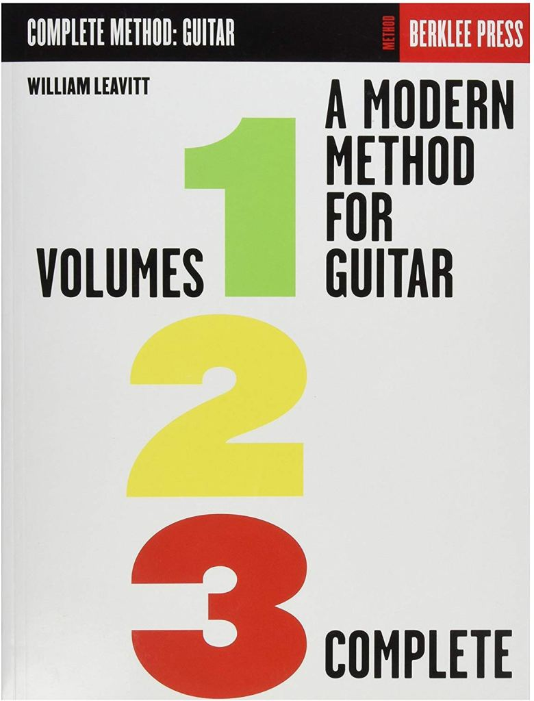 Modern Method Guitar Instructional Book, 1,2,3 - Cover