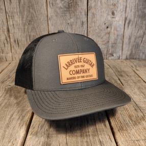 """Larrivée's """"Company Hat"""" by KOCH Leather"""