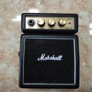 Marshall MS-2, cute little hard rock served on your desk