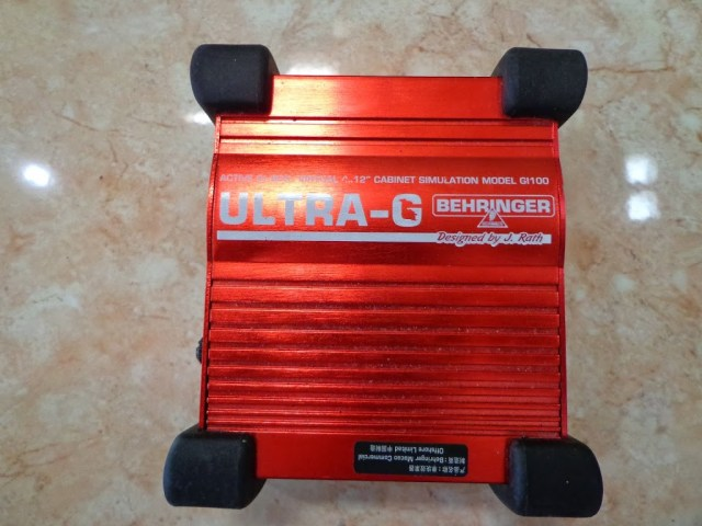 Behringer ULTRA-G GI100 active DI box