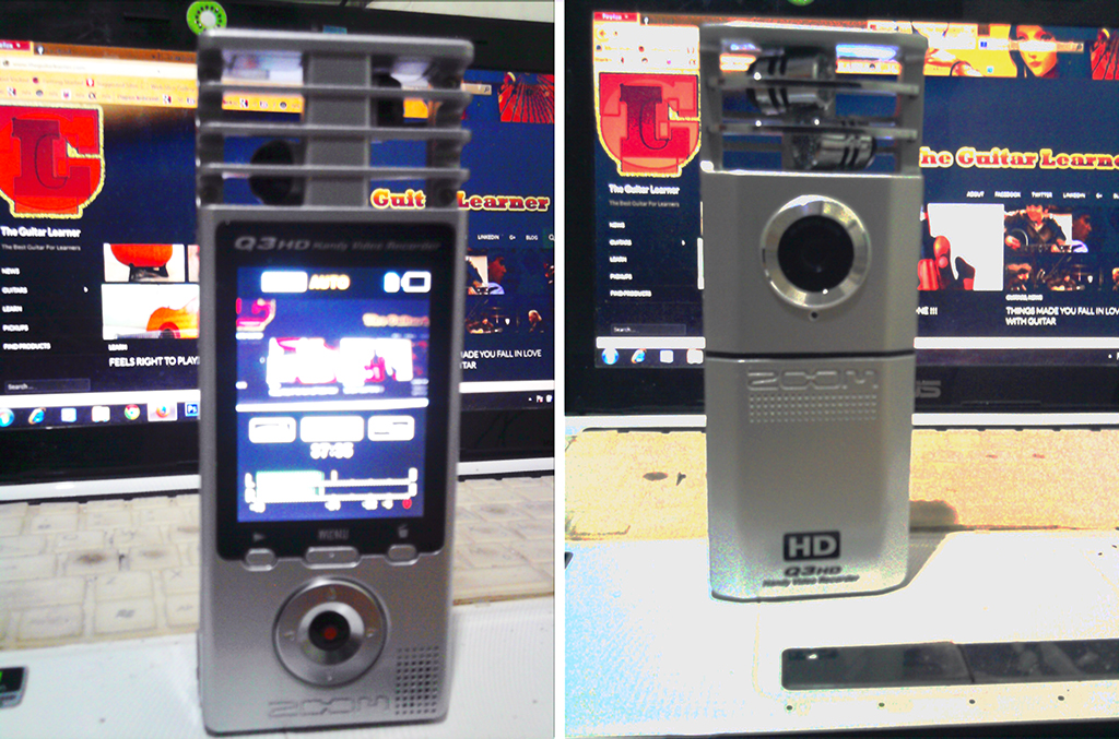 Zoom Q3HD for music blog and guitar site