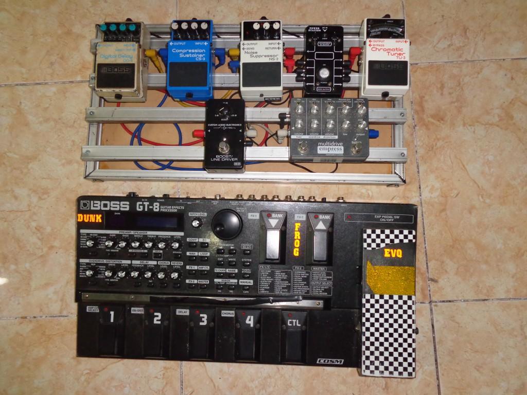 pedal board aluminium diy for analog effect pedals. Black Bedroom Furniture Sets. Home Design Ideas