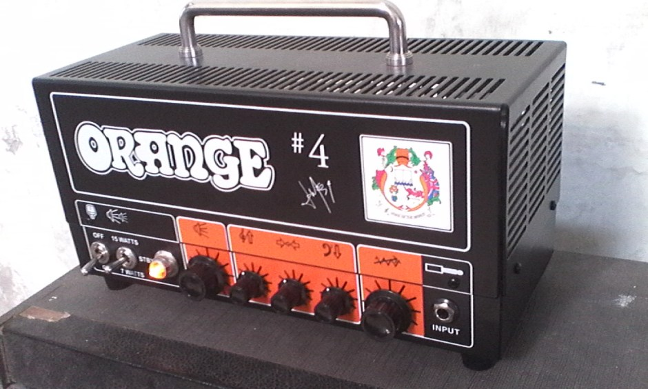 Orange Jim Root Terror TT15JR #4