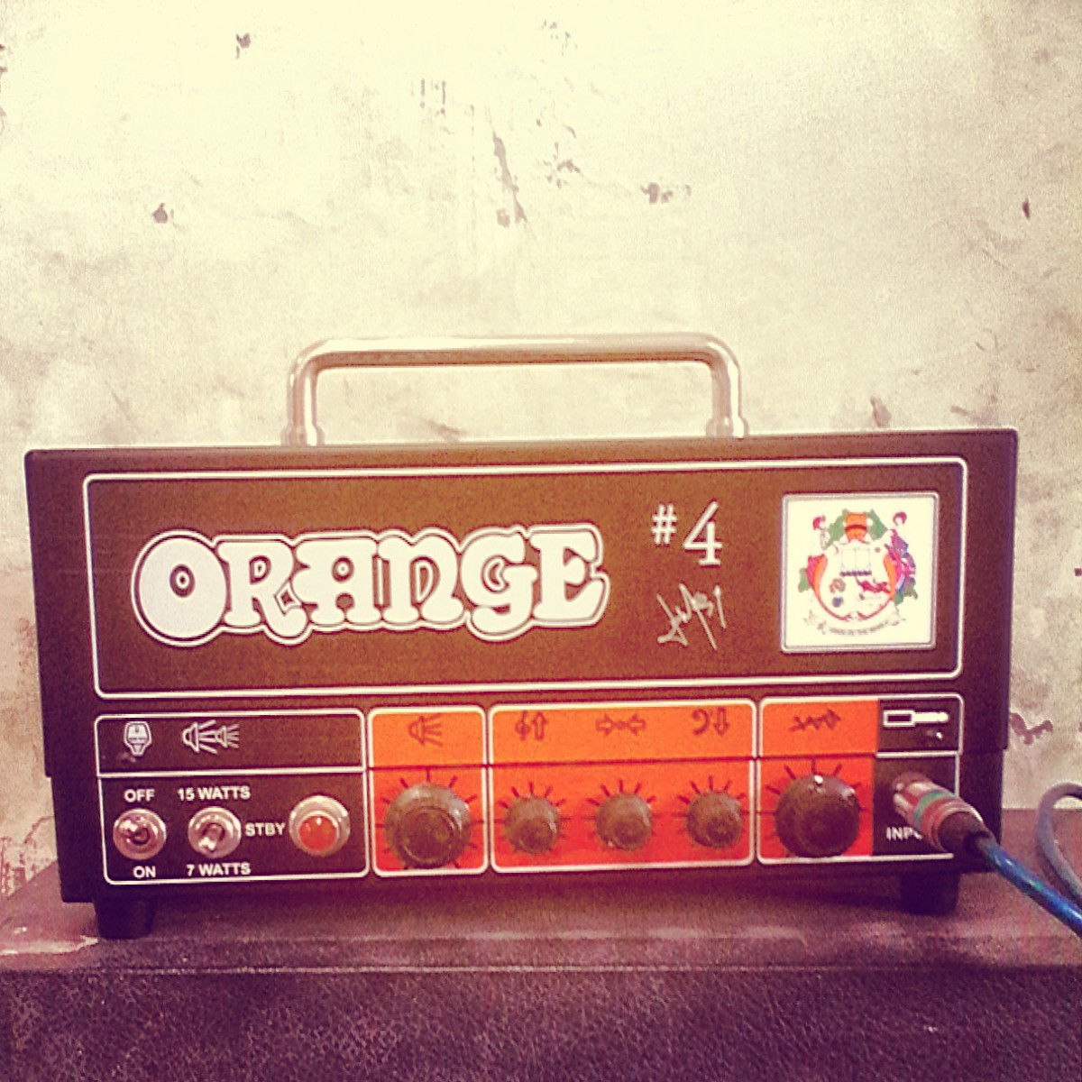 Orange Jim Root Terror TT15JR #4 Signature by Orange Amplification