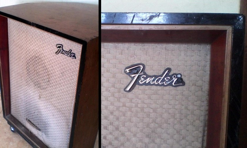 Fender Logo on 1x12 Cabinet