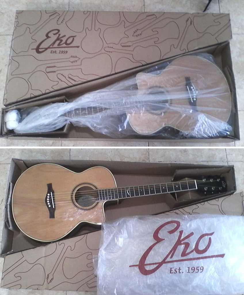 EKO guitars electro-acoustic steel strings NXT series