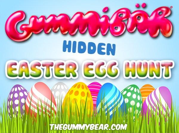 Gummibär Hidden Easter Egg Hunt! - Gummibär