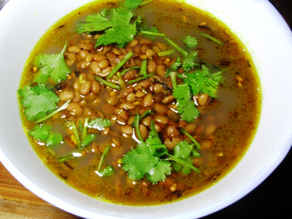 Gahat or horse gram Lentil Soup (गहतको झोल)