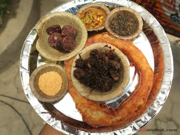 varities of cuisines of Rai and Limbu