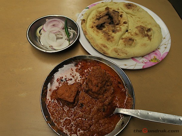 naam and butter chicken curry