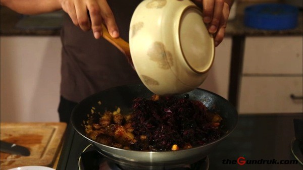 yangben and pig's blood