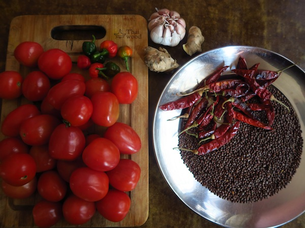 tomato pickle ingredients