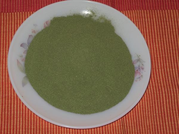 young buckwheat greens flour