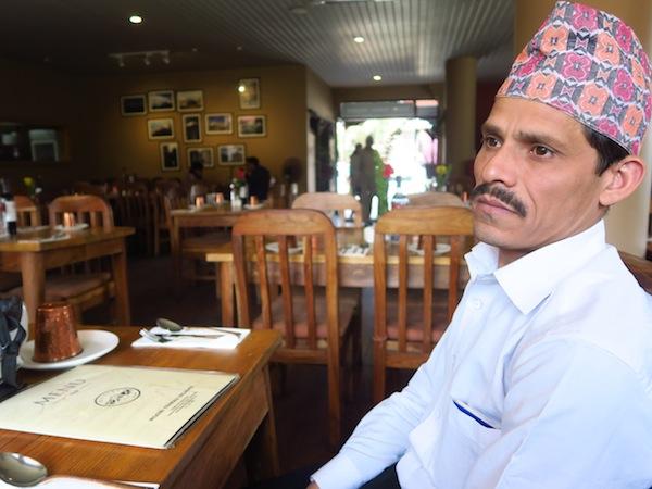chef Shambhu Thapa