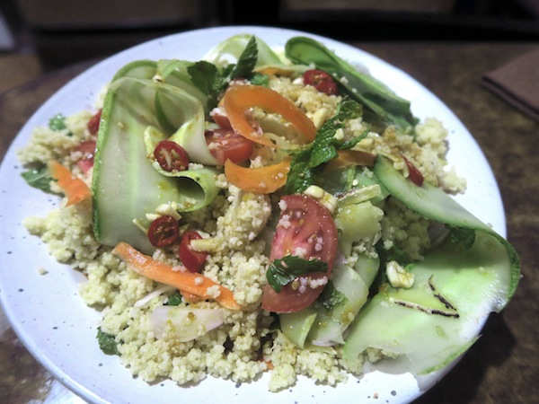 Kaguno (Foxtail Millet) Salad with Roasted Mustard Oil Dressing