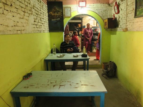 Newa eatery in Dhulikhel