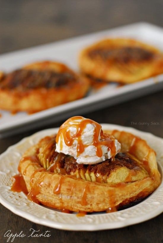 Apple Tarts Recipe