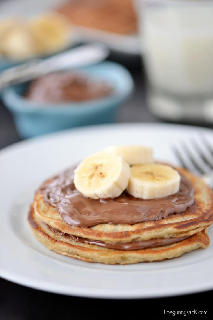 Homemade Banana Pancakes The Gunny Sack