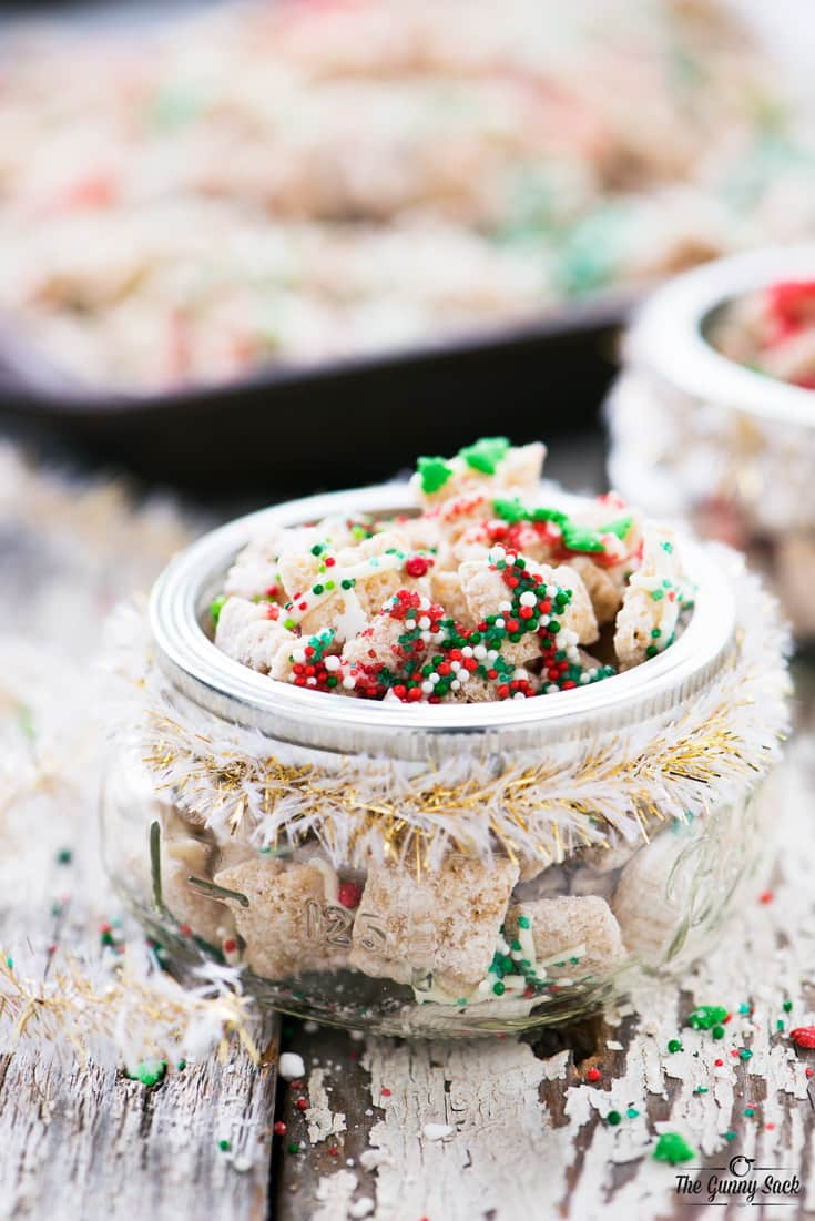 Christmas Sugar Cookie Chex Party Mix The Gunny Sack