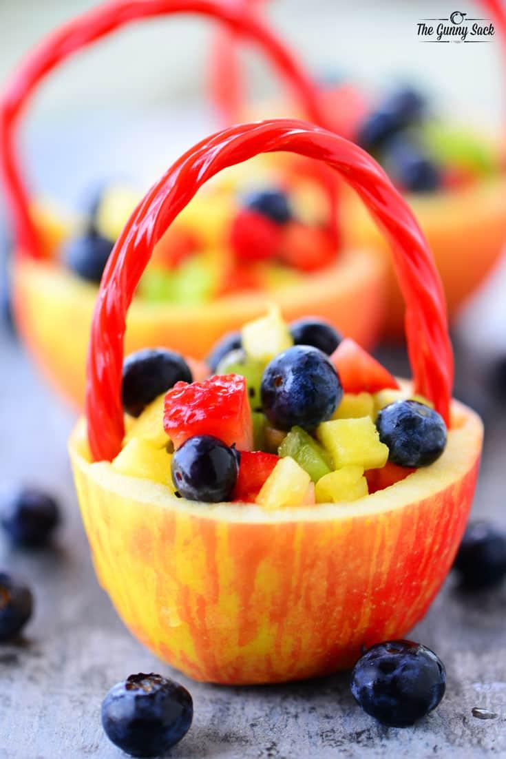 Apple Fruit Baskets The Gunny Sack