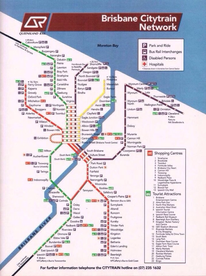 citytrain map