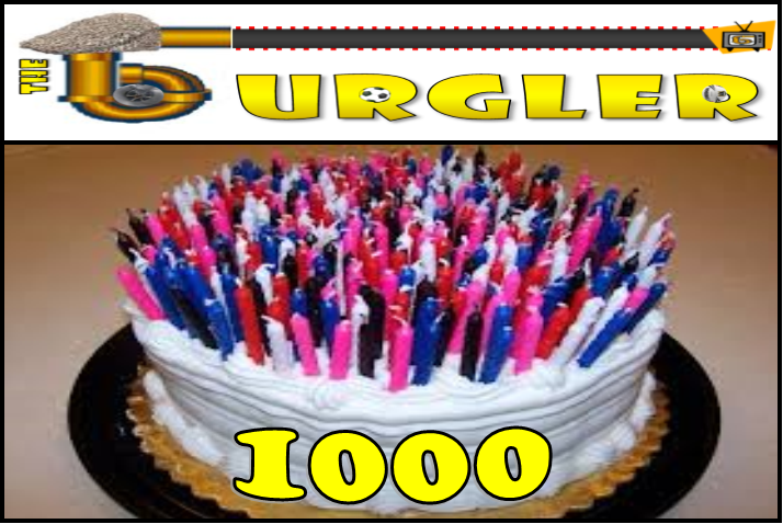 "1000 Stories and Counting...The Gurgler Celebrates 1000 Posts of Pure ""Gold"""