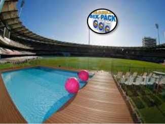 pool at the gabba