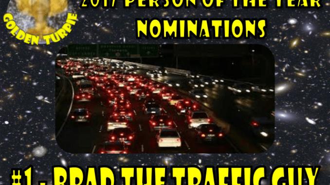poty 2017 - brad the traffic guy