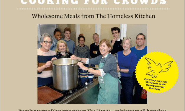 COOKING FOR CROWDS FROM THE HOMELESS KITCHEN