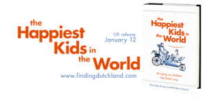 The Happiest Kids in the World Book launch The Hague @ The American Book Center