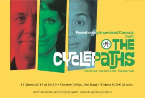 The Cyclepaths: Comedy at Pepijn @ Theater PePijn
