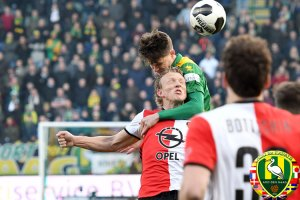 Join TheHagueOnLine Social Club to watch ADO Den Haag vs  Feyenoord @ Cars Jeans Stadion , Forepark