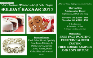 American Women's Club Holiday Bazaar @ The Carlton Ambassador Hotel
