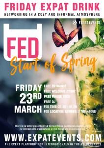 Start of Spring Wine Tasting and FED (Friday Expat Drink) @ Restaurant Gember
