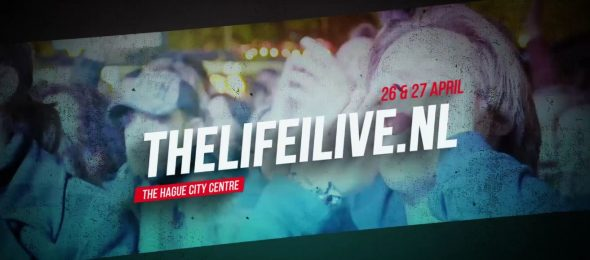 Schedule for 'The Life I Live' music festival on King's Day