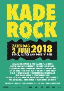 KadeRock  2018  - Peace, Justice and Rock n Roll @ Muziekcafé Musicon