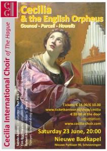 Cecilia International Choir of The Hague @ Nieuwe Badkapel, Scheveningen @ Nieuwe Parklaan, Scheveningen