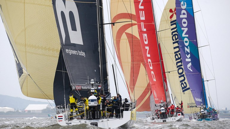 Volvo Ocean Race – The Ultimate destination – Race update (1)