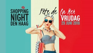 ShoppingNight 2018 Fête de la Mer', The Hague City Centre turns blue, white and red! @ City centre, The Hague