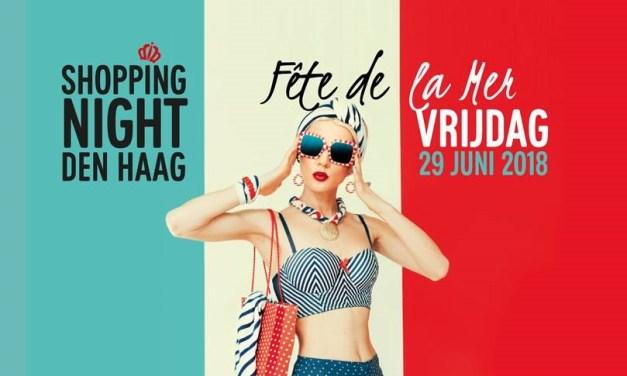 ShoppingNight 2018 Fête de la Mer', The Hague City Centre turns blue, white and red!