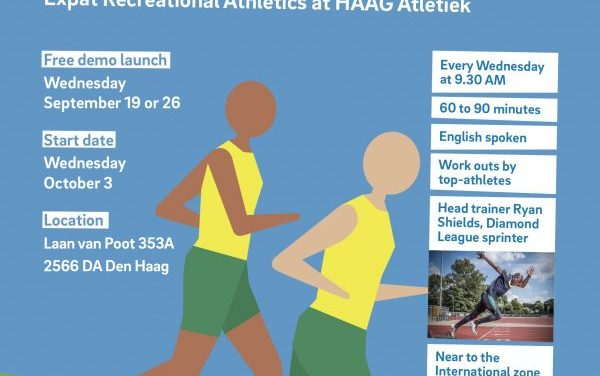 Recreational Athletics for Expats with Haag Atletiek