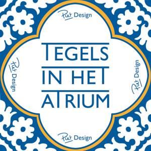 Tiles in the Atrium Exhibition @ Atrium De Haag