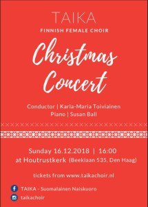 TAIKA Choir Christmas Concert @ Houtrustkerk