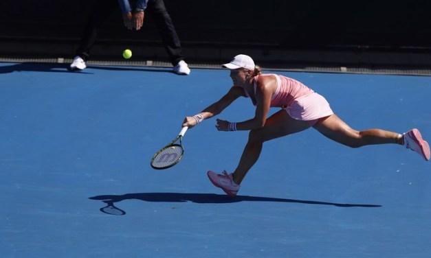 Kiki Bertens off to a Great Start at Australian Open