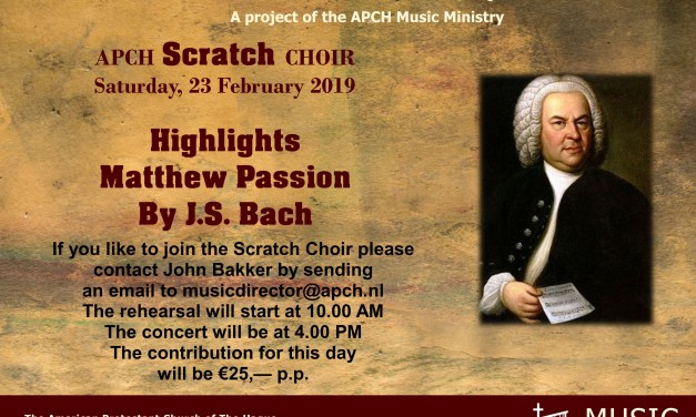 APCH Scratch Choir Concert
