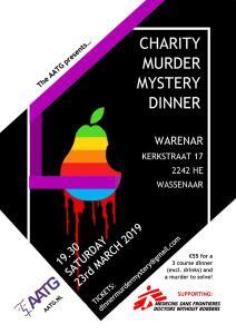 Charity Murder Mystery Dinner 2019