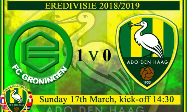 Expats Experience an ADO Away Game at FC Groningen