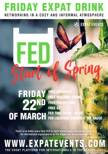 FED Expat Drinks: Start of Spring Edition @ Gember